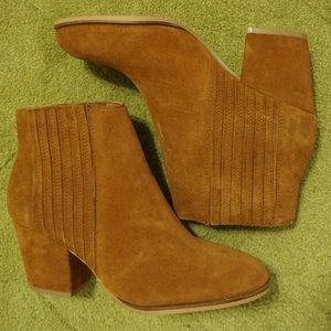 Steven by Steve Madden Harleigh Suede Ankle Boot